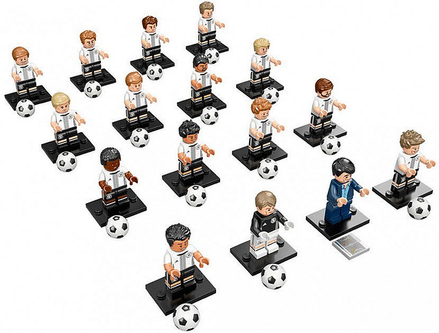 LEGO® Minifigure Series 71014 - German DFB National Football Team - Die Mannschaft