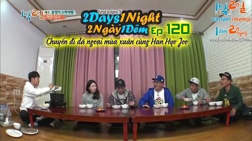 [Vietsub] 2 Days 1 Night Season 3 Tập 120