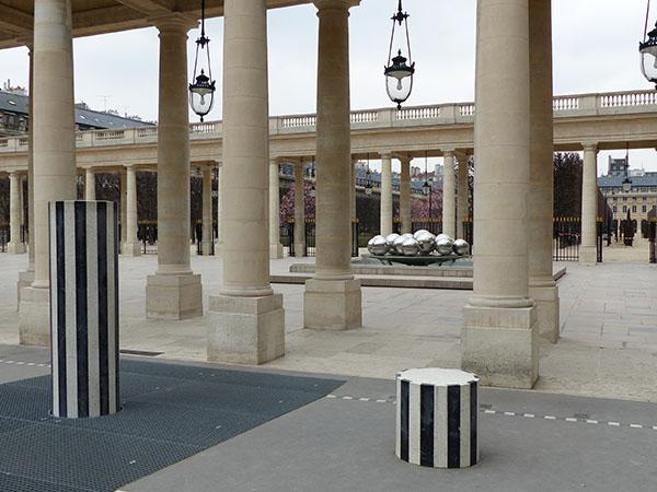colonnes et jardins