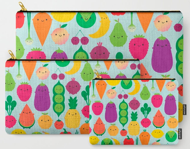 5 A Day pouch set at Society6