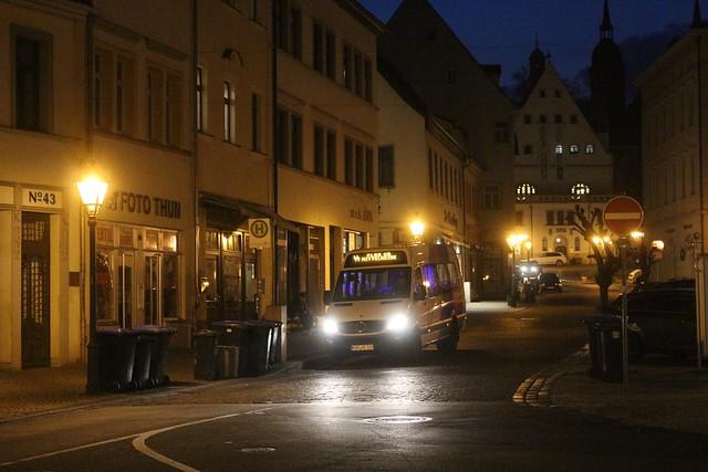 Eisleben by night
