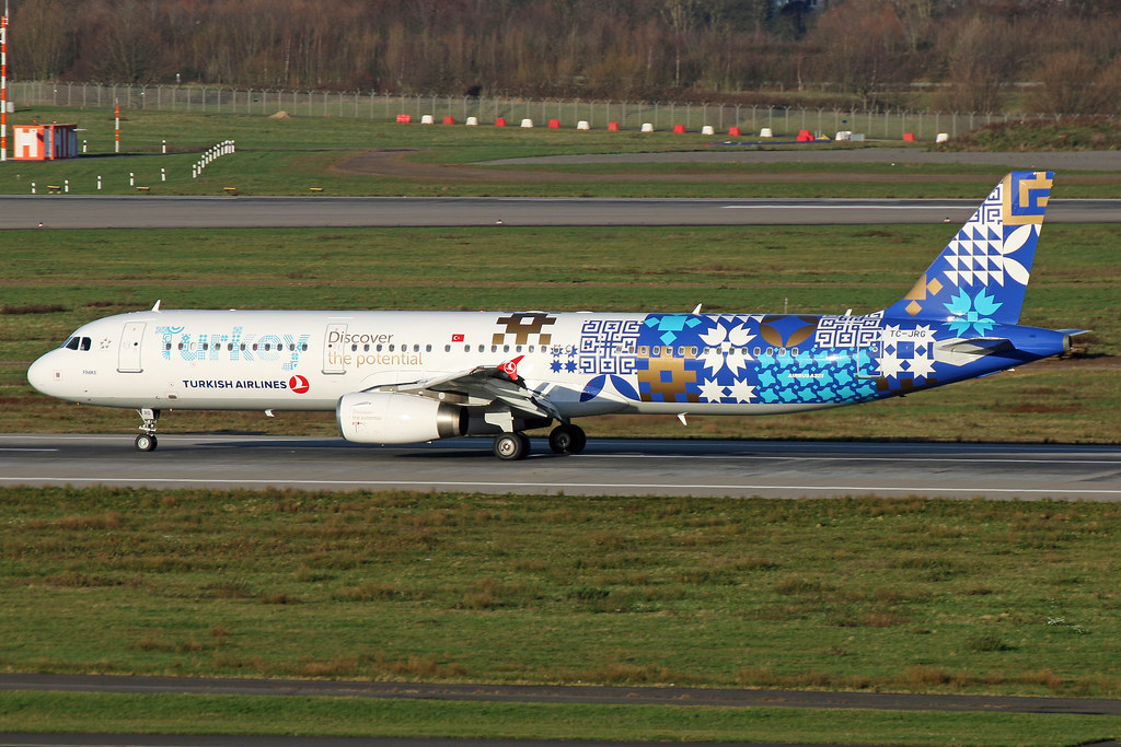 Turkey Discover the Potential C/S TURKISH AIRLINES A321 TC-JRG 2015-12-26 (7) DUS