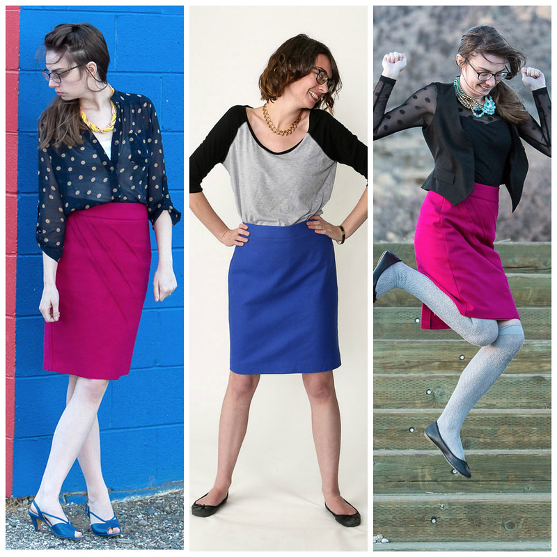 PencilSkirt4 Collage