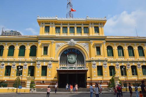 Poste centale de Saigon (HCMC, Vietnam 2016)