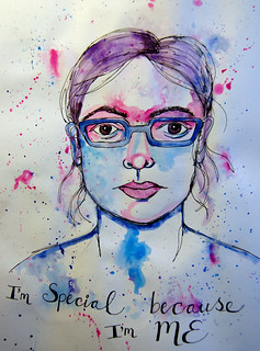 4 - Self-Portrait -Art Journal Page