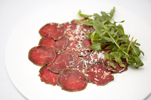 Flavour-packed beef carpaccio © ROH Restaurants