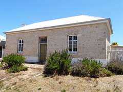 Robe. First settled town of  the South East. The original Police Station which had a Courthouse nearby. Built 1947.
