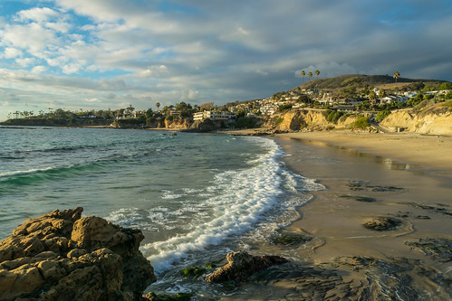 ocean california winter sky beach clouds geotagged sand nikon rocks waves unitedstates wave pacificocean palmtree lagunabeach nikond5300