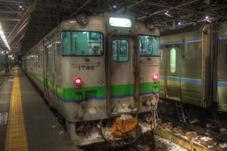 Asahikawa Station in early morning on JAN 04, 2016 (8)