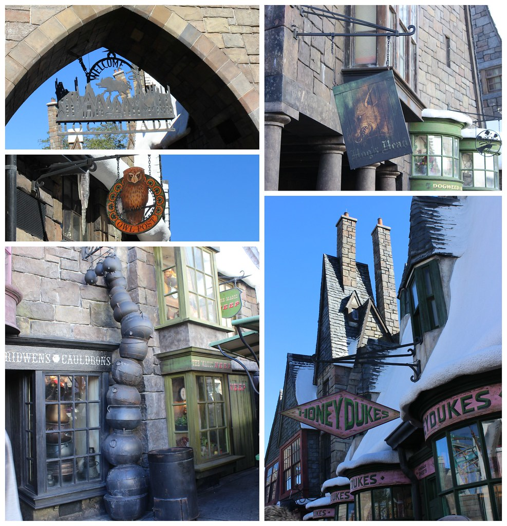 Universal Harry Potter World Hogsmeade
