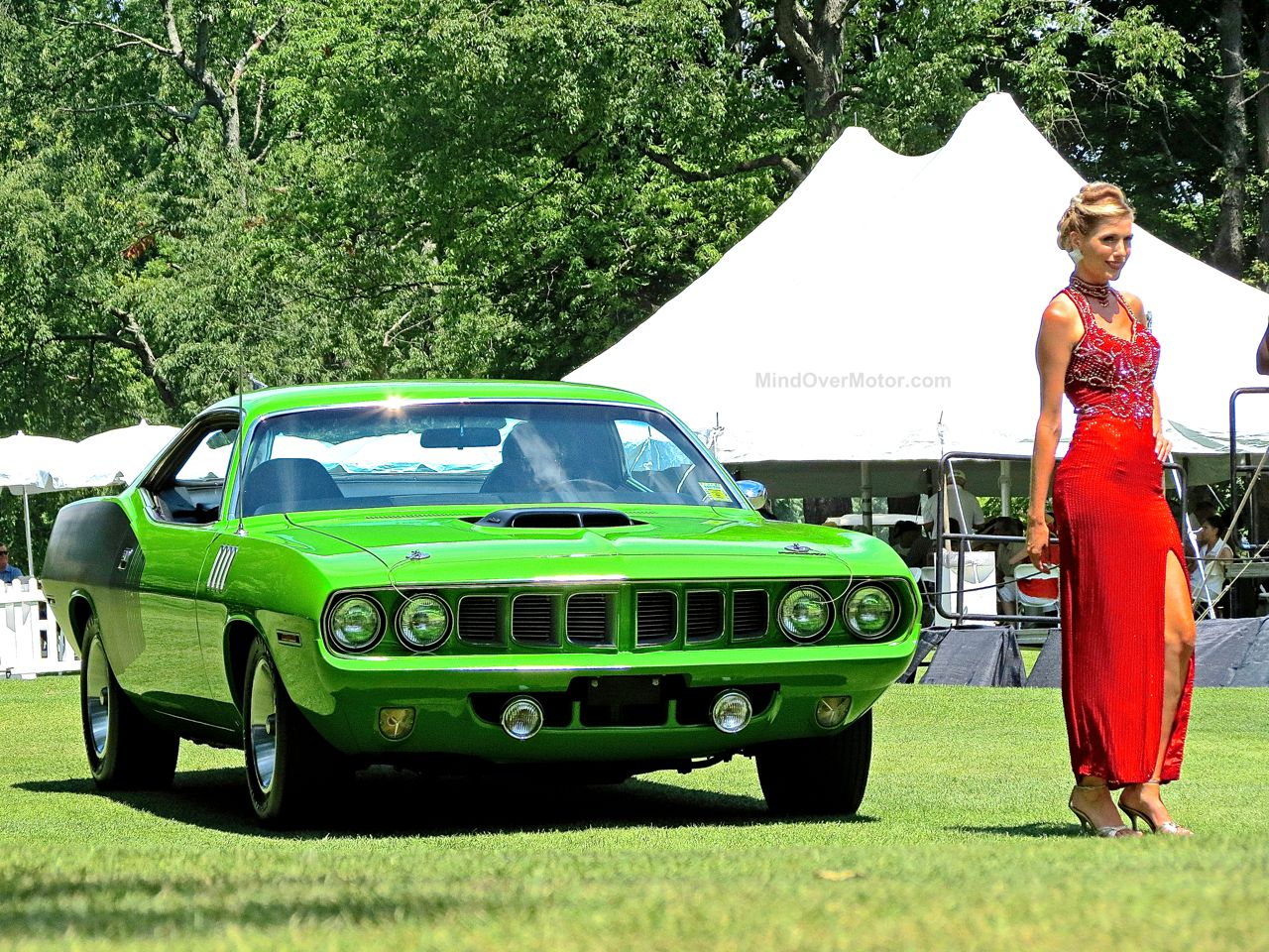 1971 Plymouth Hemicuda Concours of America 2