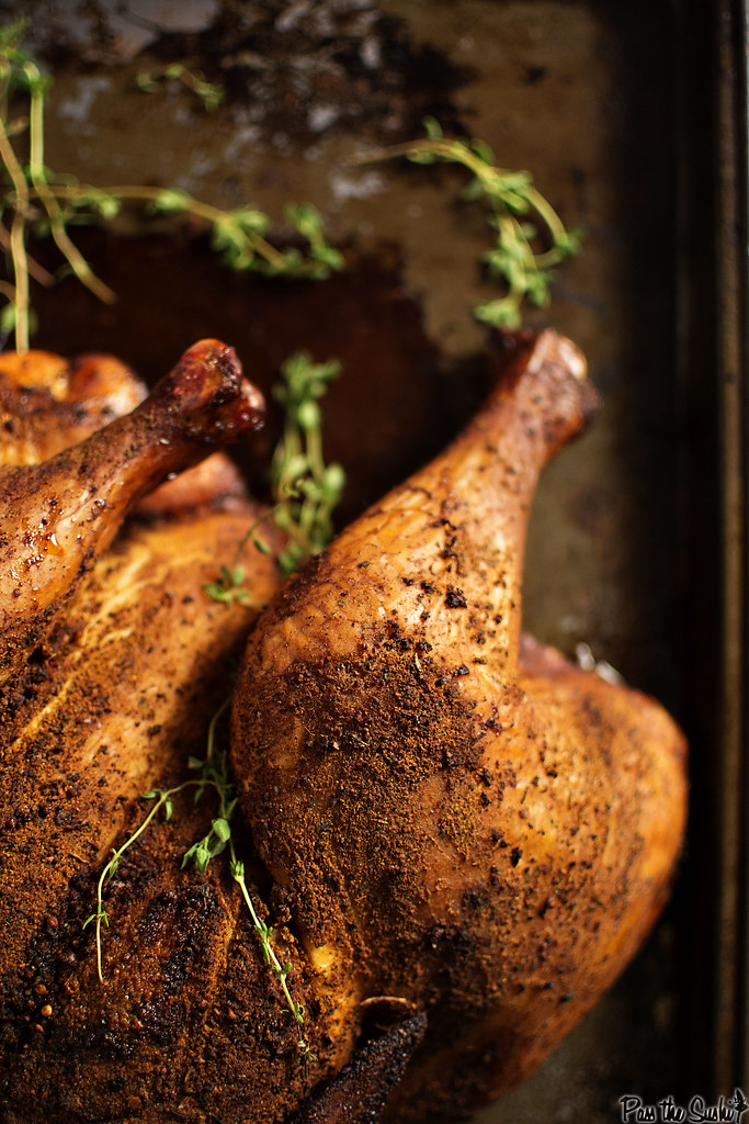 Smoked chicken - it's moist, loaded with flavor, and really not that hard to make at home!