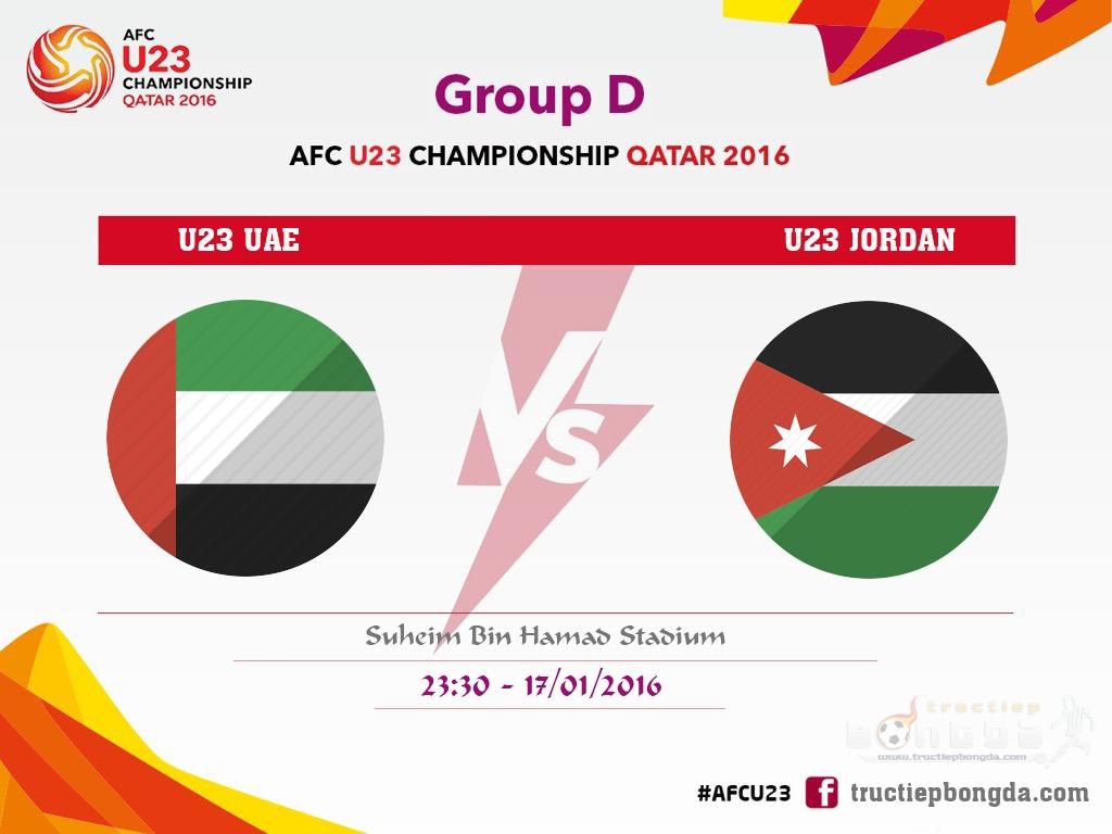 U23 UAE vs U23 Jordan