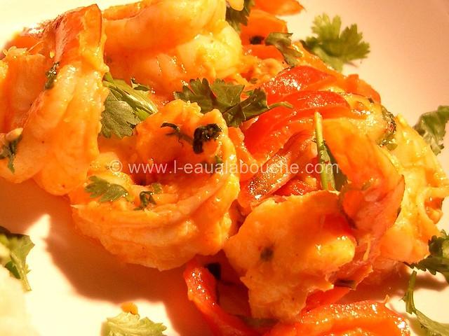 Crevettes Thaï à la Mangue © Ana Luthi Tous droits réservés 000013