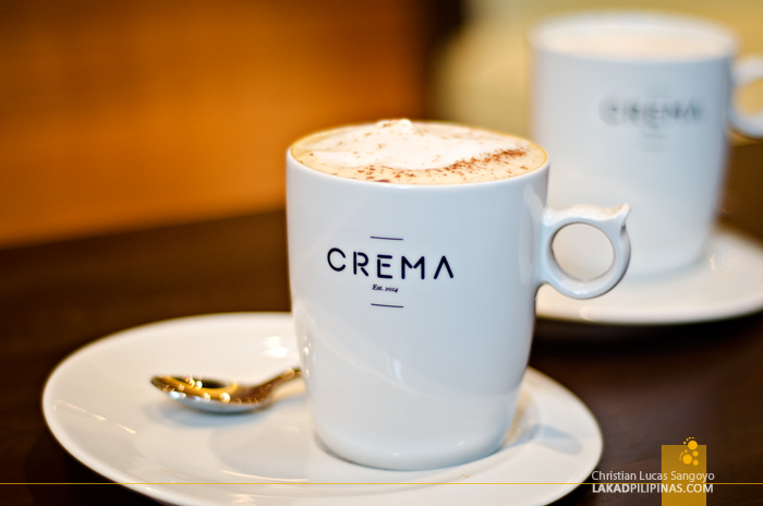 Crema Marriott Manila Coffee