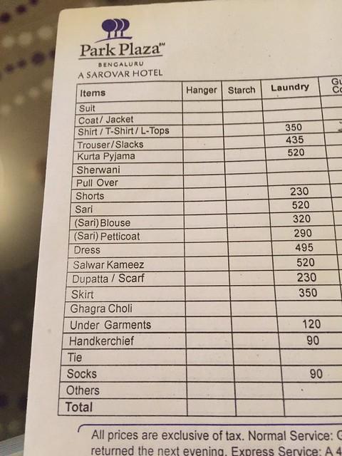 Laundry sheet