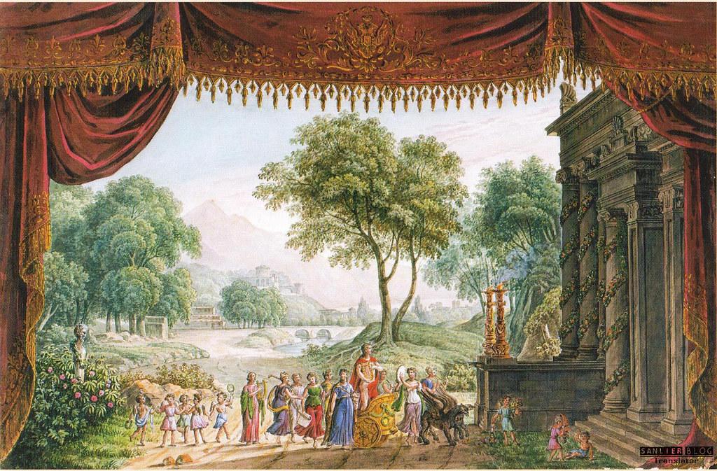 19世纪芭蕾剧舞台设计03