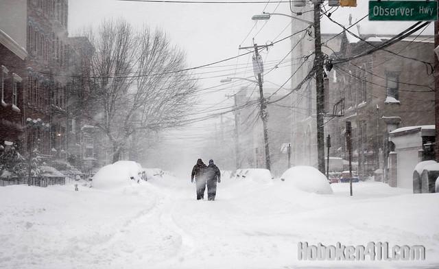 Epic Hoboken Blizzard 2016