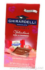 Ghiradelli Valentine's Dark & Strawberry Squares