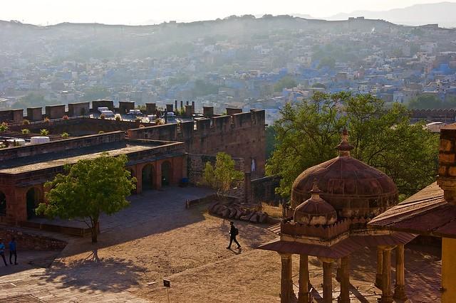 Mehrangarh fort panorama