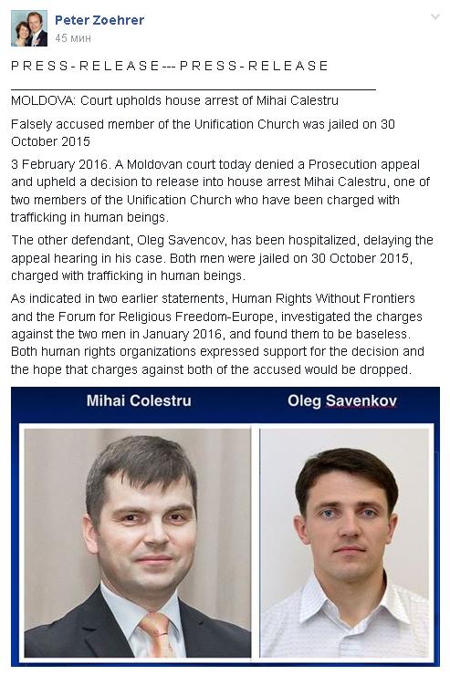 Mihai Calestru În Arest La Domiciliu, Oleg Savenkov Spitalizat