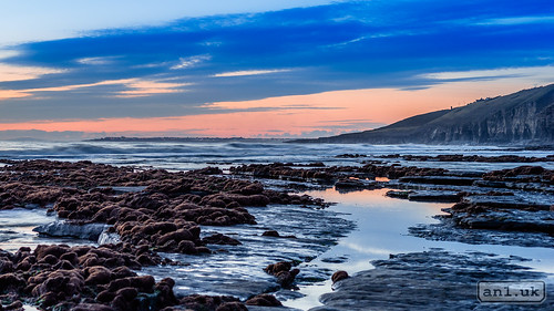sunset beach water southwales wales seaside unitedkingdom shore gb february lightroom southerndown 2016 an1 adobelightroom alannewman decymru anewman saintbridesmajor an1uk an1photography