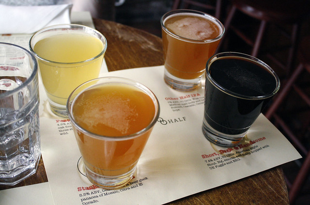 Other Half Brewing Beer Flight
