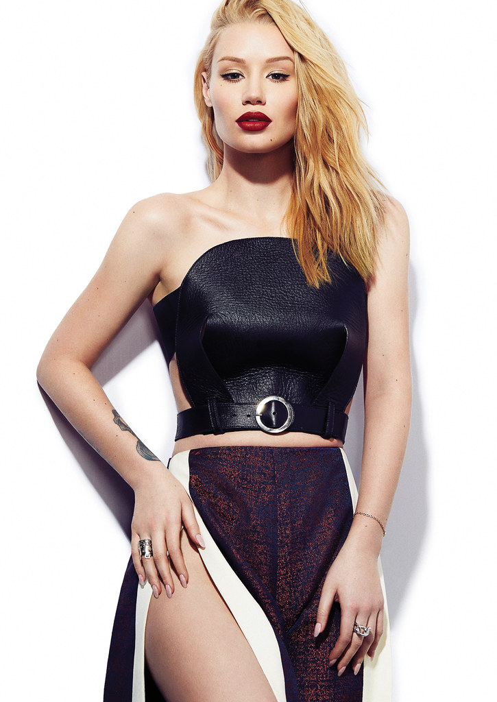 Игги Азалия — Фотосессия для «Elle» CA 2016 – 5