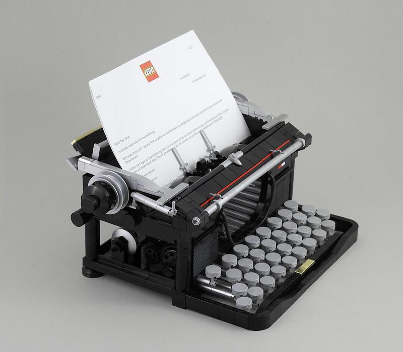 Macchina da scrivere LEGO (LEGO Typewriter)