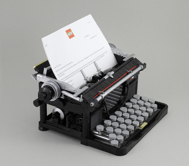 Typewriter machine à écrire