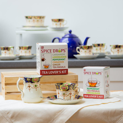 Georgina Ingham - Photograph Holy Lama Tea Set