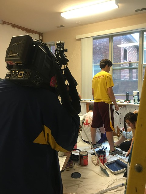 Iowa State University's Greek Alternative Spring Break students
