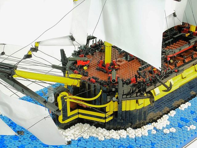 HMS Enterprize - Forecastle