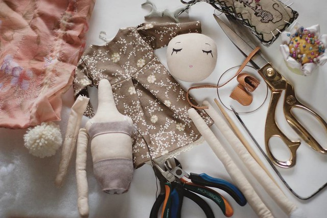 #onmyworktable руки ноги голова #doll #process #instamood #instaday #instalike #vsco #sewing #fabricdoll #toys