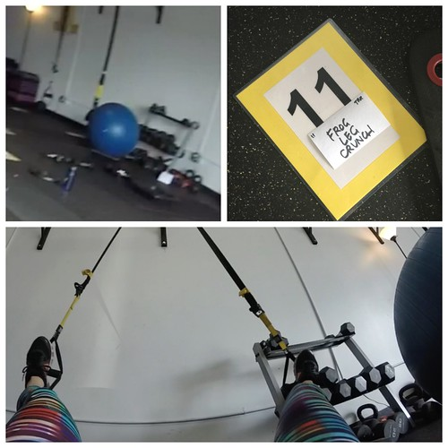 flint fit trx frog leg crunch gym wilmington nc
