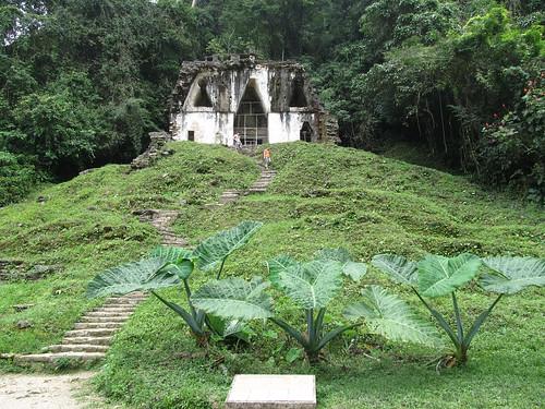 Palenque: le Templo de la Cruz Foliada