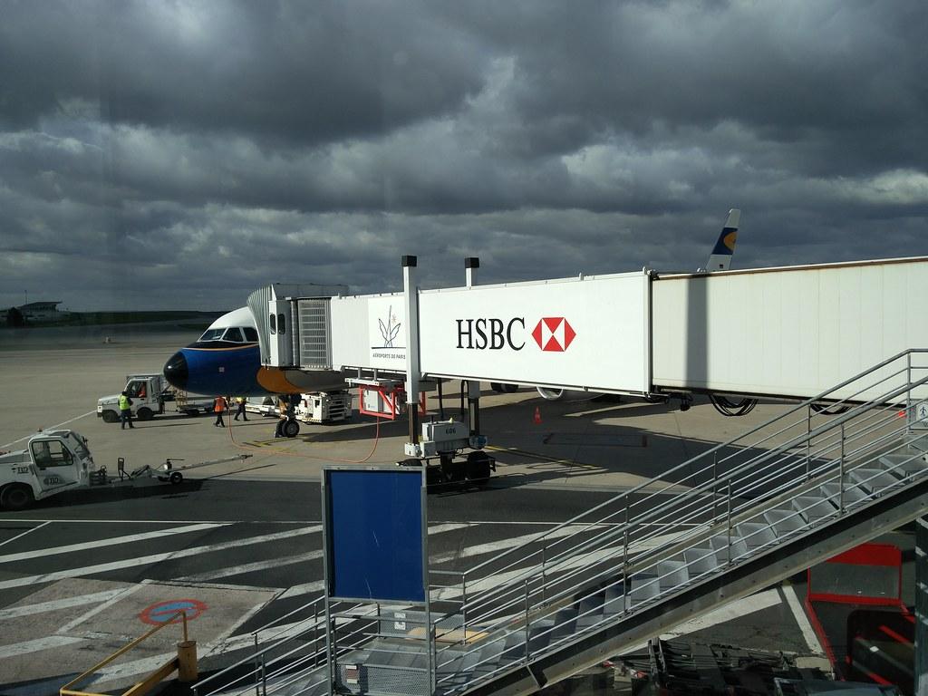 Lufthansa A321 at CDG