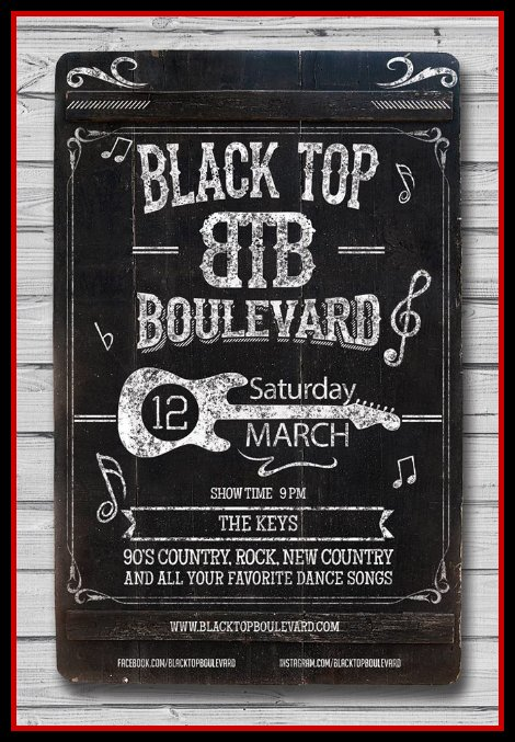 Black Top Boulevard 3-12-16