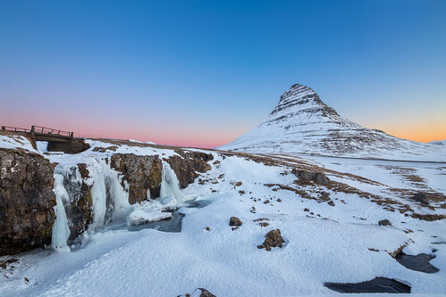 winter mountain snow west love sunrise is waterfall iceland colours iconic kirkjufell canoneos6d