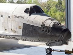 NASA - Rockwell Space Shuttle - OV-103 Discovery @ NASM Udvar-Hazy Center