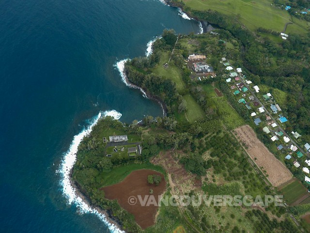 Above Hilo, Hawai'i with Paradise Helicopters