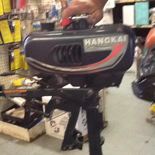 Hangkai 3.5 HP Outboard Motor - $200 (ST James)