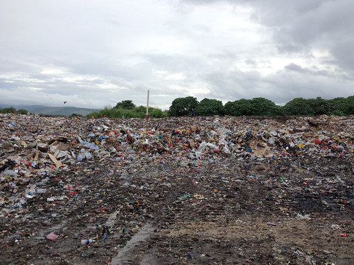 The Ranadi Landfill (dumpsite) in Honiara, Solomon Islands. Managed by the Honiara City Council (the government) and fed with there-unrecyclable waste (many of which were used to sell utmost unhealthy food items) by the Chinese community