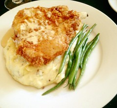 Southern Fried Pork Chop Dinner