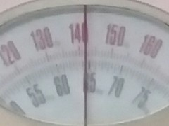 today's weight: 64kg