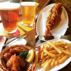 beer season❤︎mugicha bitter, pilsner & osaru IPA  #minohbeerwarehouse #minoo #osaka #japan #箕面ビール #箕面 #大阪