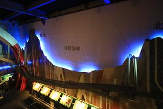 青函トンネルの立体イメージ