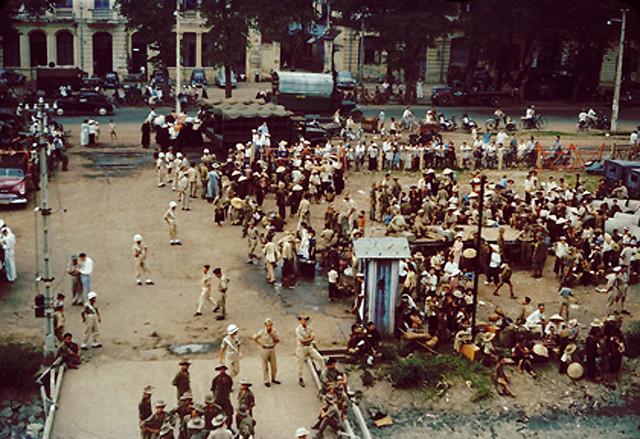 Operation Passage to Freedom - Cuộc di cư năm 1954, đến bến bờ tự do tại Bến Bạch Đằng Saigon