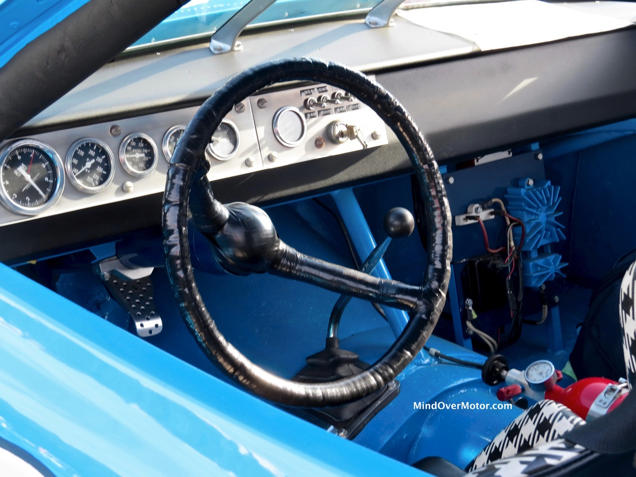 1971 Plymouth Road Runner NASCAR Interior