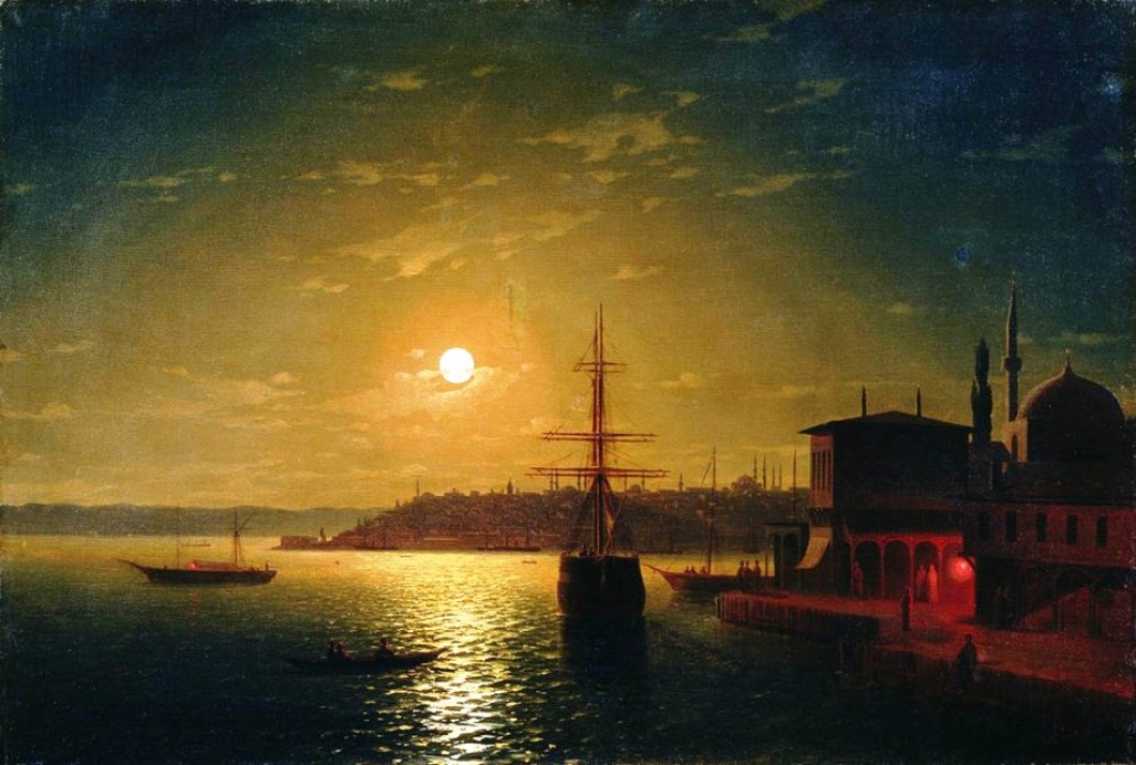 The Bay Golden Horn by Ivan Aivazovsky, 1845